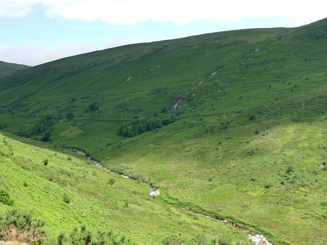 Laxey Glen from the Snaefell Mountain Railway
