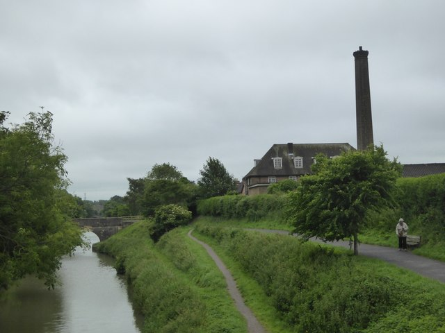 Kennet and Avon canal from Wharf Bridge