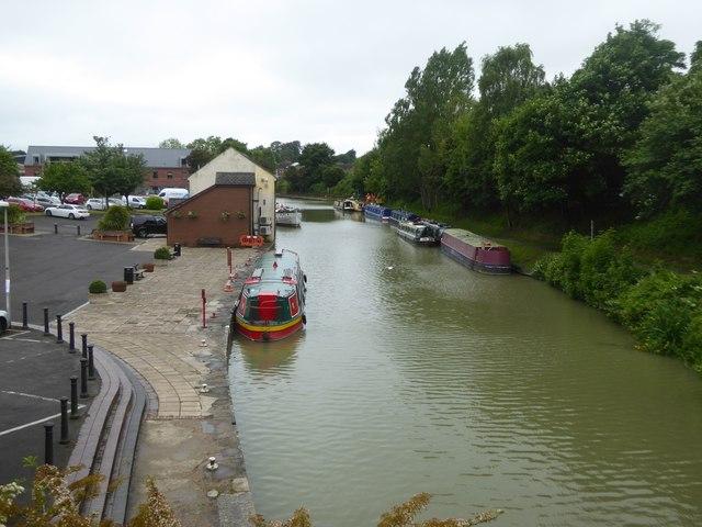 Devizes wharf area