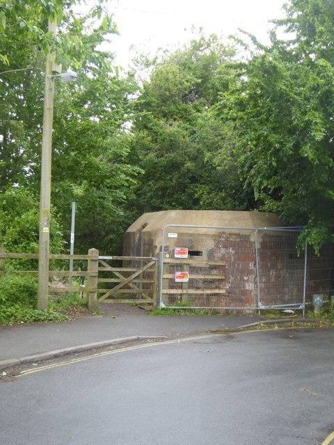 WW2 pillbox, Dyehouse Lane, Devizes