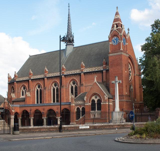 Highgate School chapel, North London
