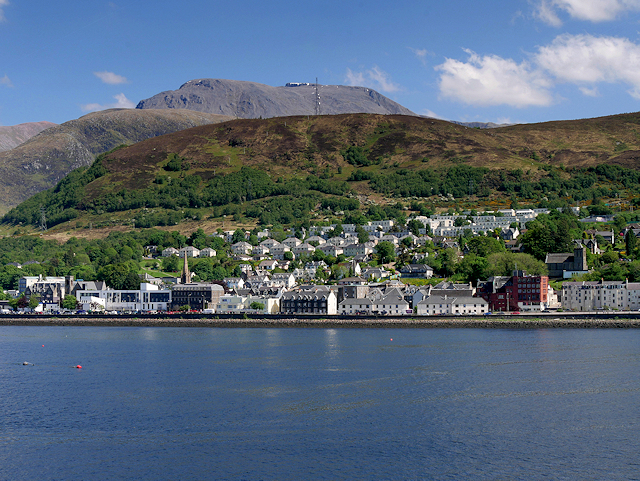 Fort William, Cow Hill and Ben Nevis