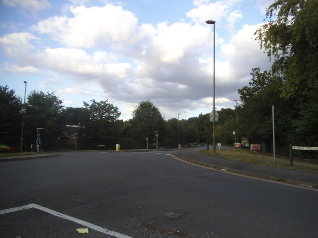 West End Lane at the junction of Lammas Lane