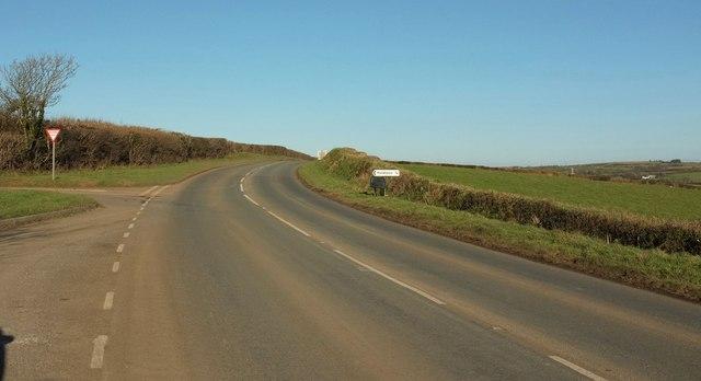Junction on B3266