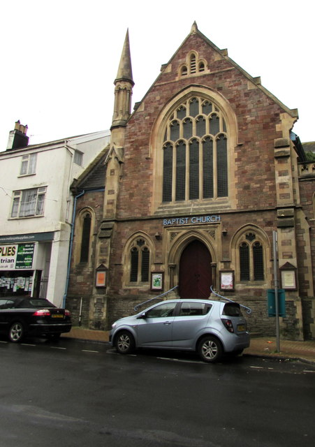 Grade II listed Baptist Church, High Street, Ilfracombe