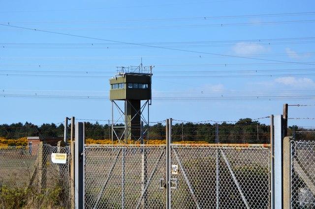 Watch tower, Lydd Camp