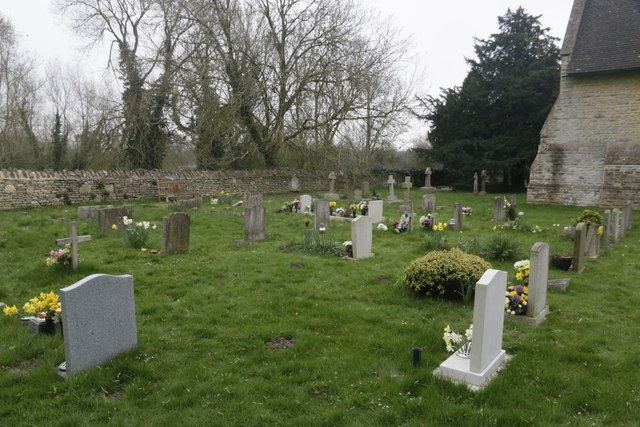 East side of the Churchyard