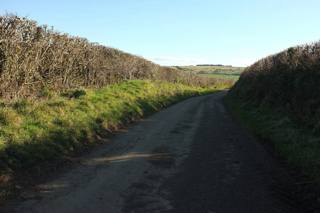 Lane from Helstone