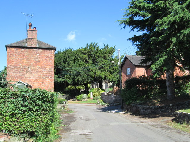 Church Lane, Checkley
