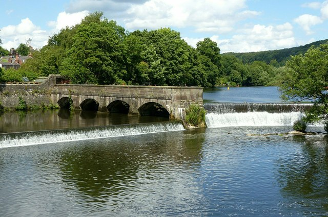 Belper Mills weirs and sluices – 1