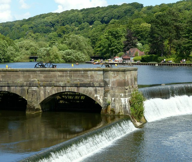 Belper Mills weirs and sluices – 2