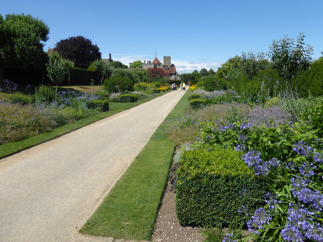 The Jubilee Walk at Penshurst Place