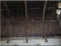 TQ5243 : The roof of the Baron's Hall, Penshurst Place by Marathon