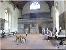 TQ5243 : In the Baron's Hall at Penshurst Place by Marathon