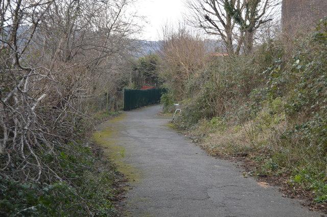 Footpath through Estover