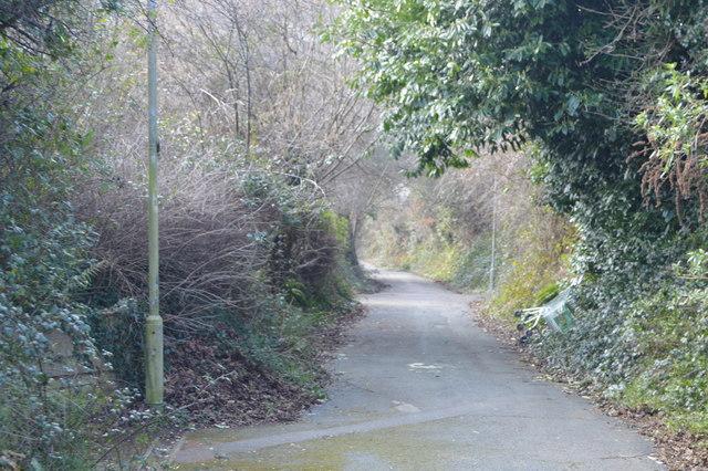 Footpath, Estover