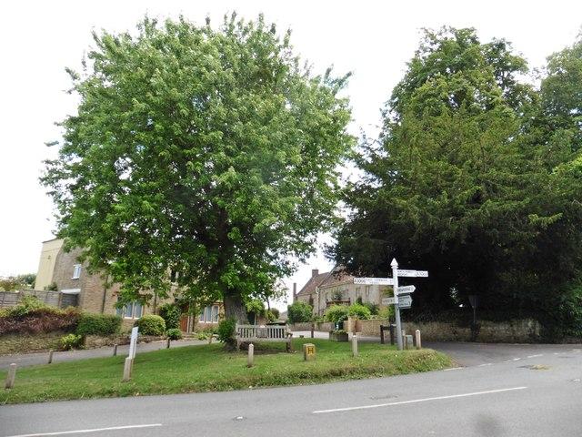 Crossroads at Haselbury Plucknett