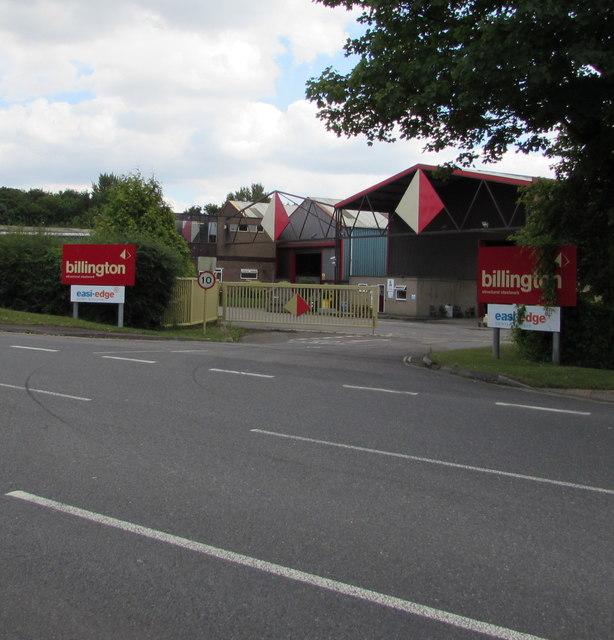 Entrance to the Billington site, Yate