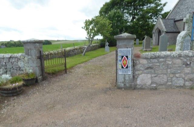 St Philip's kirkyard gate, Catterline