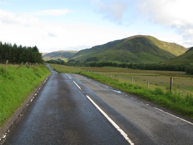 Approaching Spittal of Glenshee along the A93