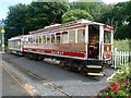 SC4594 : Manx Electric Railway Car 9 at the temporary Ramsey Station by Graham Hogg