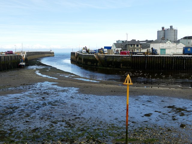 Low tide at Ramsey Harbour