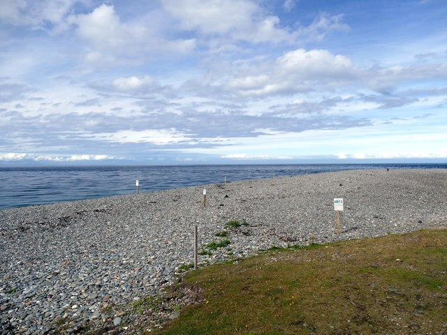 Beach at Point of Ayre