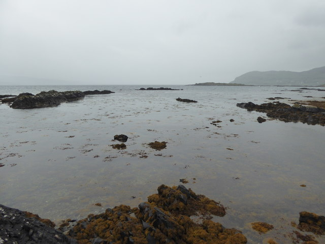 Tidal rocks by Port an t-Salainn, Kilchoan