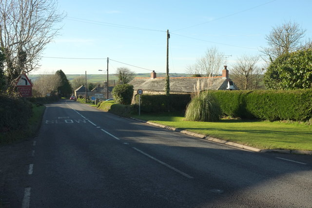 A39 at Helstone