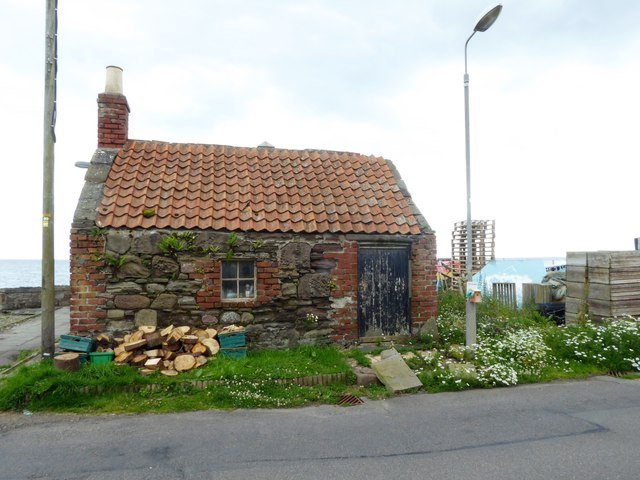 Old Shed on New Street, Johnshaven