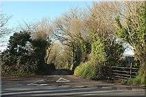 SX0780 : Junction on A39 by Derek Harper