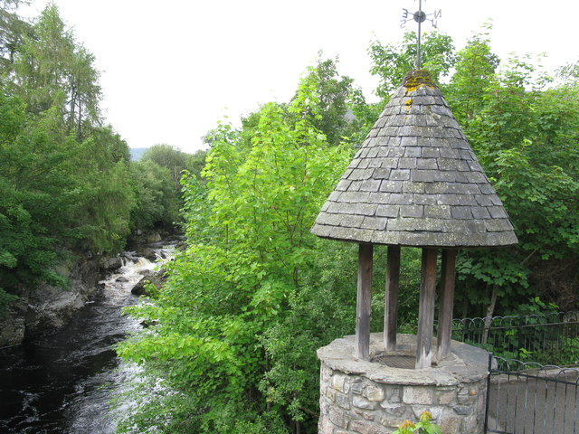 Clunie Water and Wishing Well, Braemar