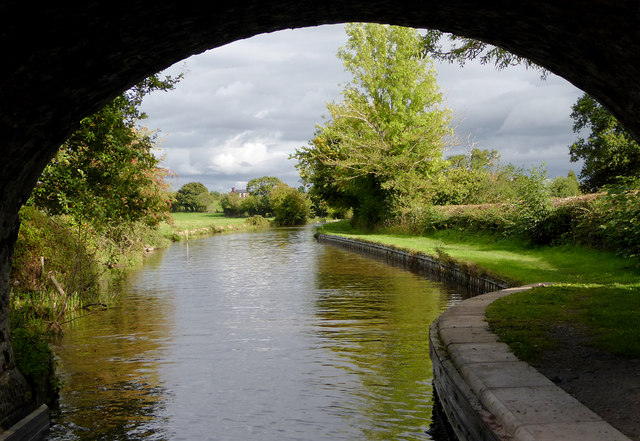 Llangollen Canal at Lower Frankton in Shropshire