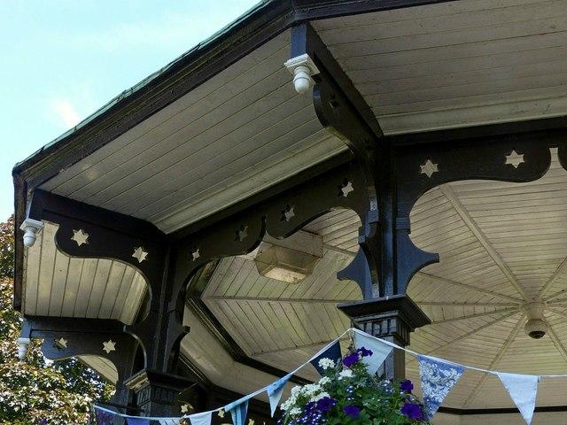 Belper River Gardens, the bandstand