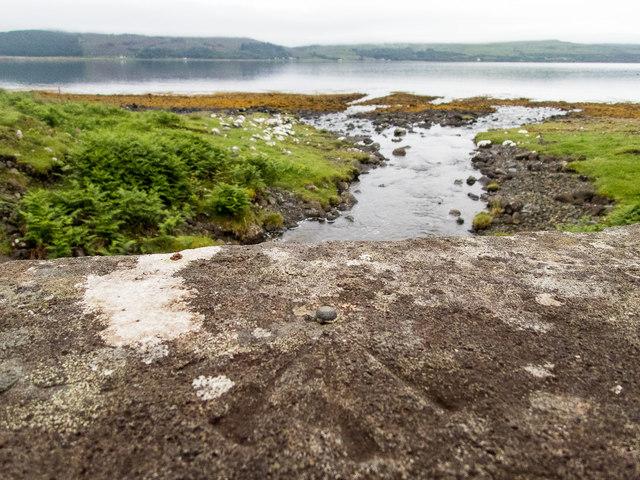 Benchmark by Loch Scridain