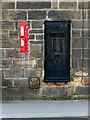 SK3447 : Disused postbox, former Post Office, Bridge Street, Ripley by Alan Murray-Rust