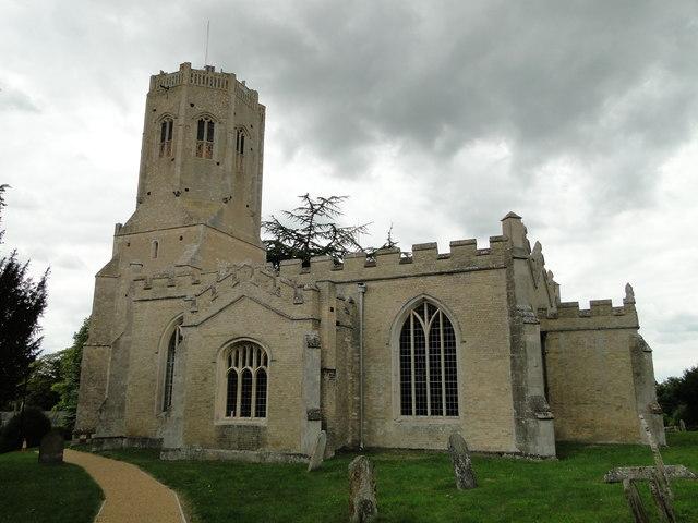 Swaffham Prior church of St. Cyriac and St. Julitta