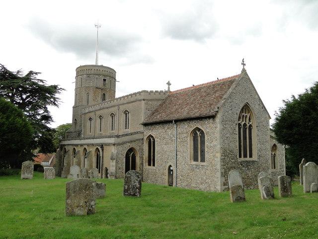 Swaffham Prior St Mary's church