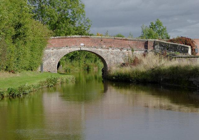 Peters Bridge at Frankton Junction in Shropshire