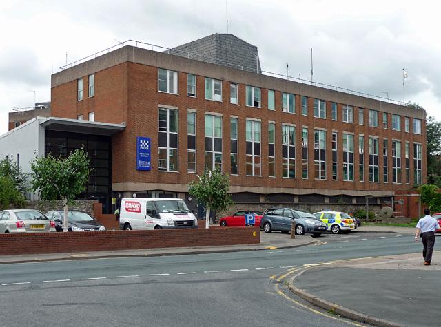 Police station, Bath Street, Hereford
