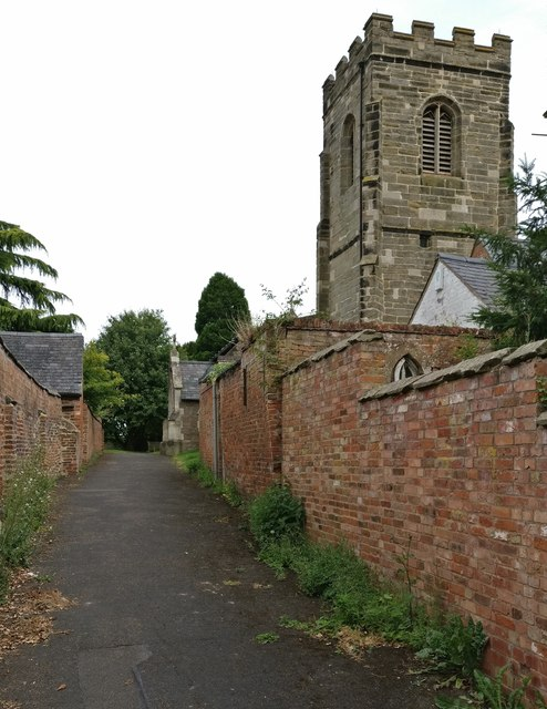 Church of St Mary in Willoughby Waterleys