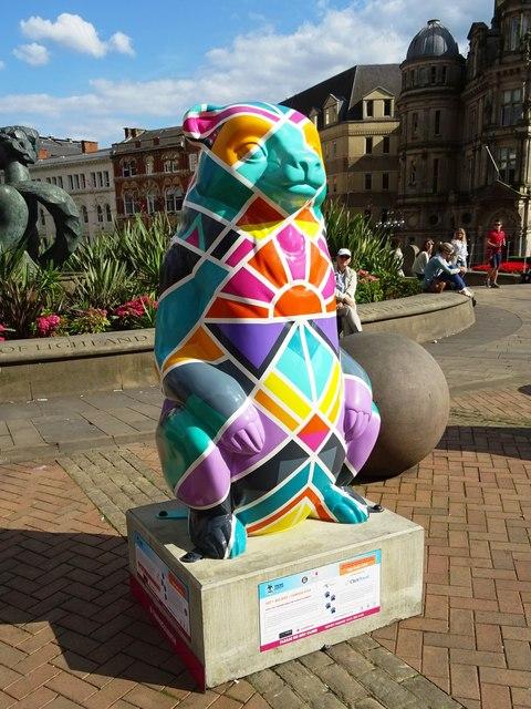 'Art+Believe = Sunrise City' Bear