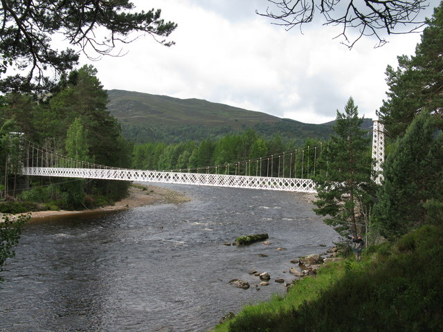 Garbh Allt Shiel Bridge (Garbh Allt Suspension Bridge)