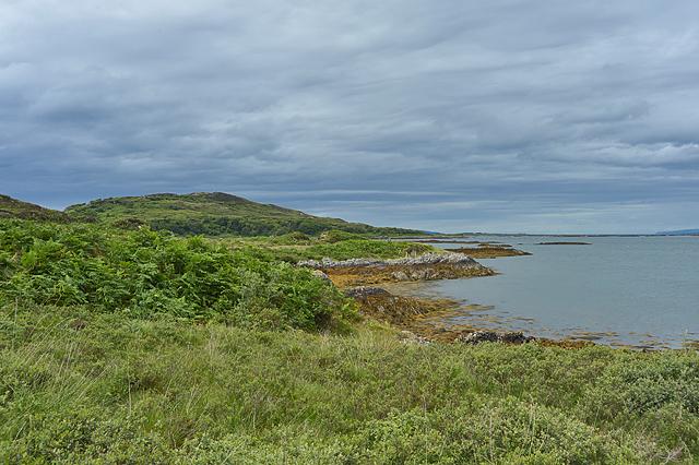 Loch nan Ceall coastline