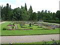 NO2595 : Sunken Garden, Balmoral Castle by G Laird