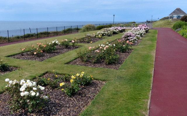 Promenade gardens at Hunstanton