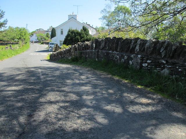 Bowland Bridge and its boundary stones