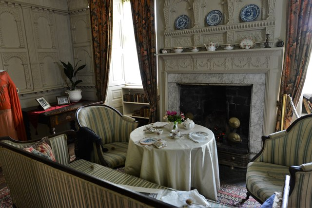 Chastleton House: The White Parlour