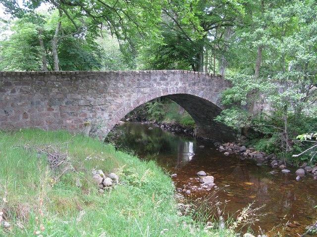 Road Bridge over the Girnock Burn, Littlemill