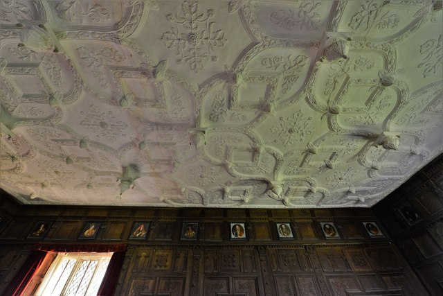 Chastleton House: The Great Chamber ceiling
